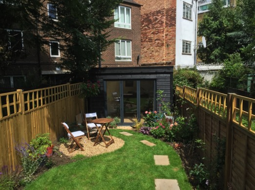 camden nordic noir garden building build garden office kit